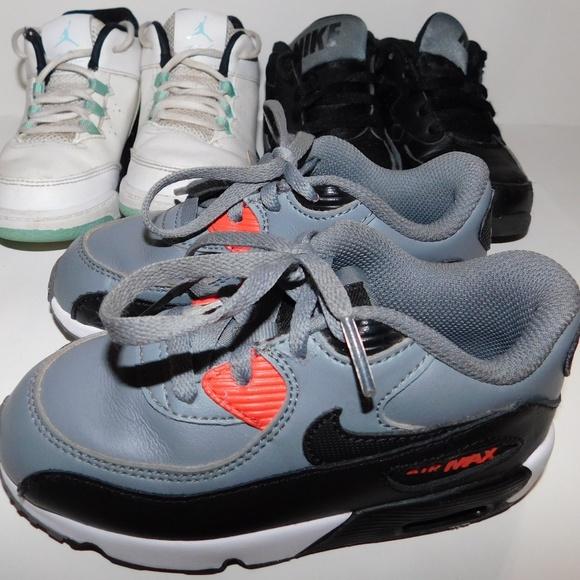 9 3 Sneakers Maxamp; Lot Of Jordan Nike Boy Sz Air C dCxoerBW